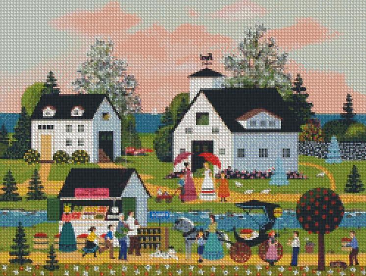 Jane Wooster Scott cross-stitch - Summer Harvest